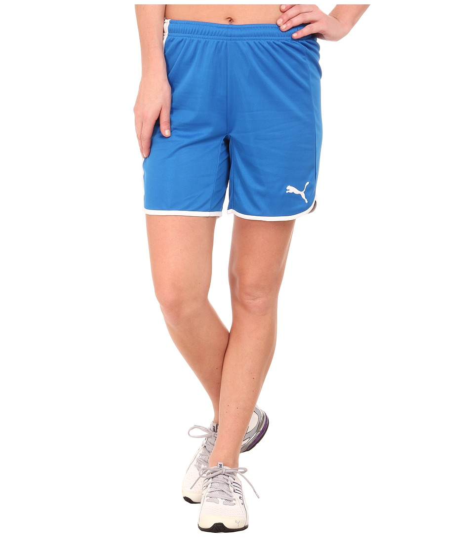 PUMA - Pulse Womens Shorts (Puma Royal/White) Women's Shorts