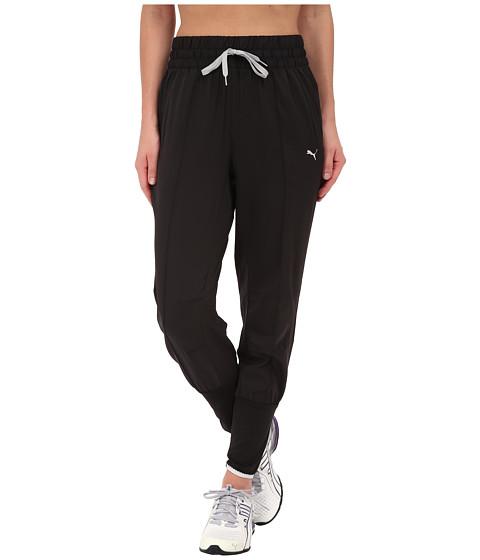 PUMA - Pr Progr Trend Pant (Black/Black) Women's Casual Pants