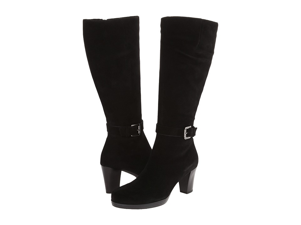 La Canadienne - Kit (Black Suede) Women