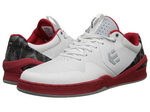 etnies - Marana E-Lite (White/Grey/Red) Men
