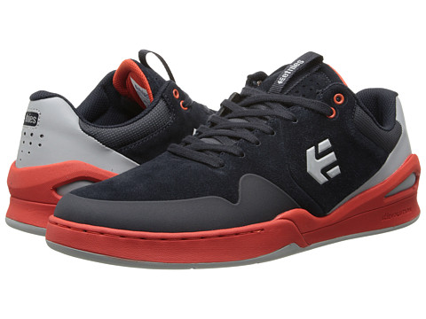 etnies - Marana E-Lite (Navy/Orange) Men's Skate Shoes