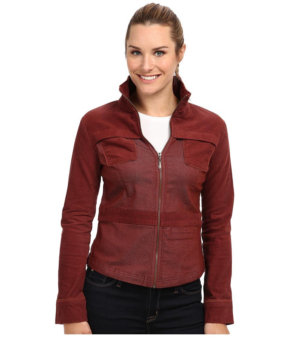 Prana - Nadine Jacket (Raisin) Women's Coat