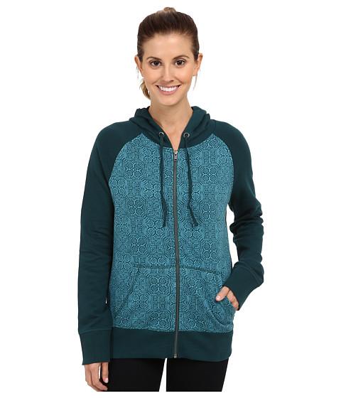 Prana - Kasey Hoodie (Deep Teal) Women's Sweatshirt