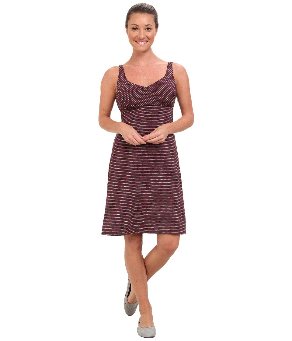Prana - Ivy Dress (Dark Plum) Women's Dress