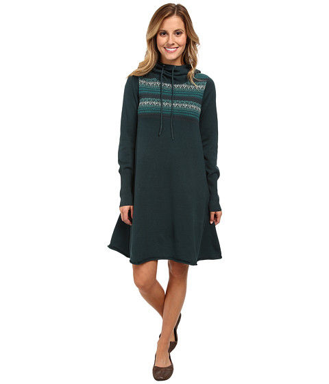 Prana - Coco Dress (Deep Teal) Women's Dress