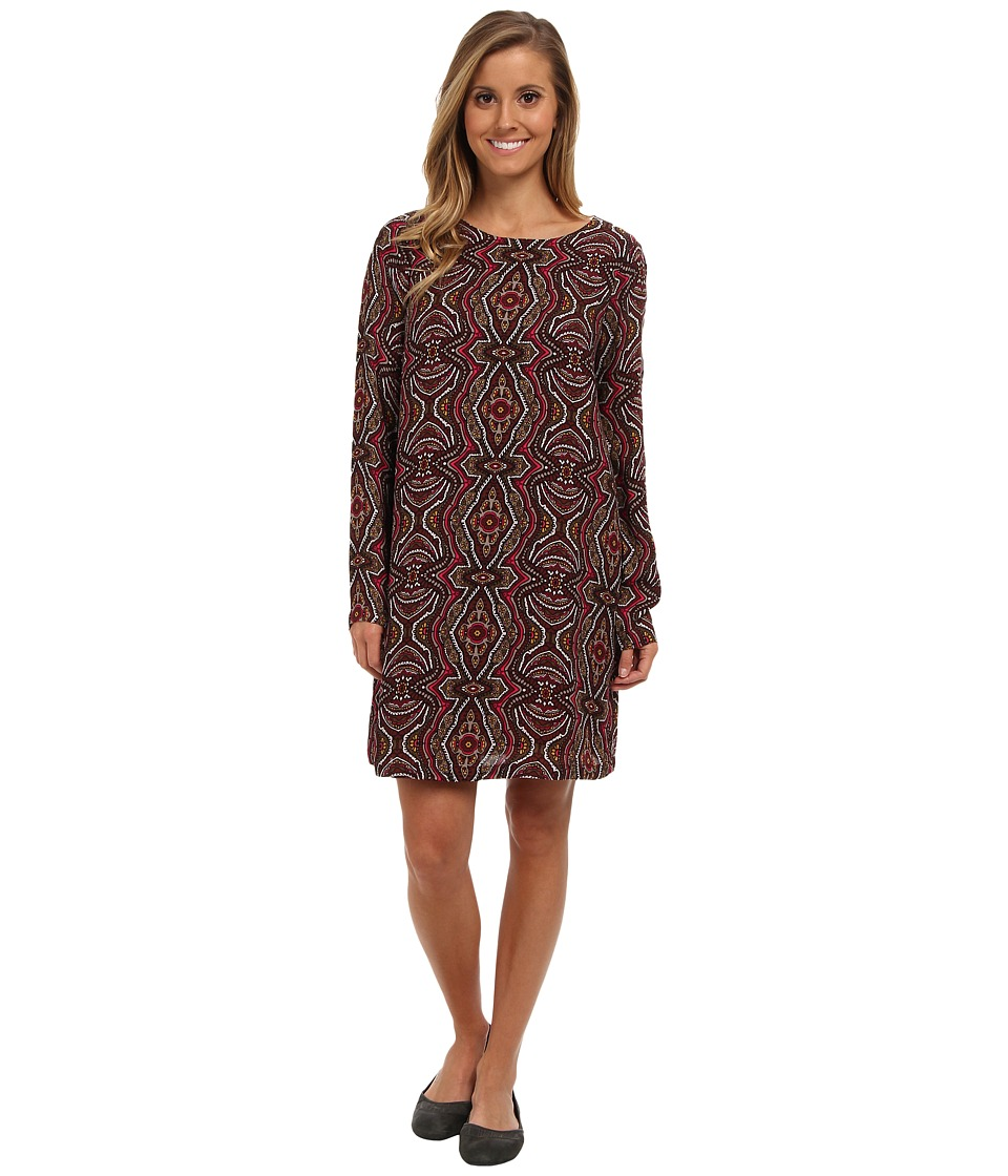 Prana - Cece Dress (Mahogany) Women's Dress