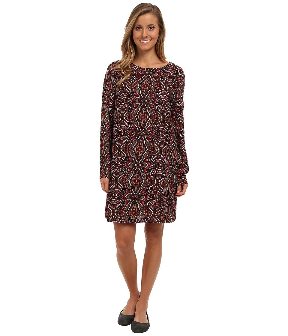 Prana - Cece Dress (Mahogany) Women's Dress