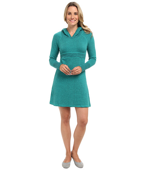 Prana - Nanette Dress (Deep Teal) Women's Dress