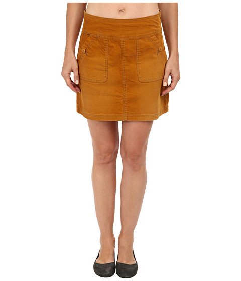 Prana - Canyon Cord Skirt (Sahara) Women