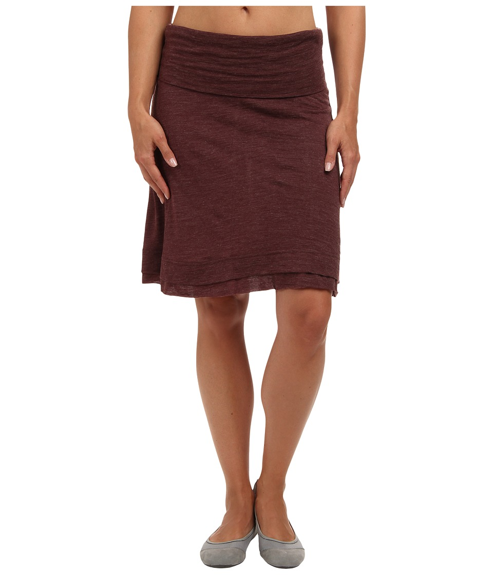Prana - Daphne Skirt (Mahogany) Women
