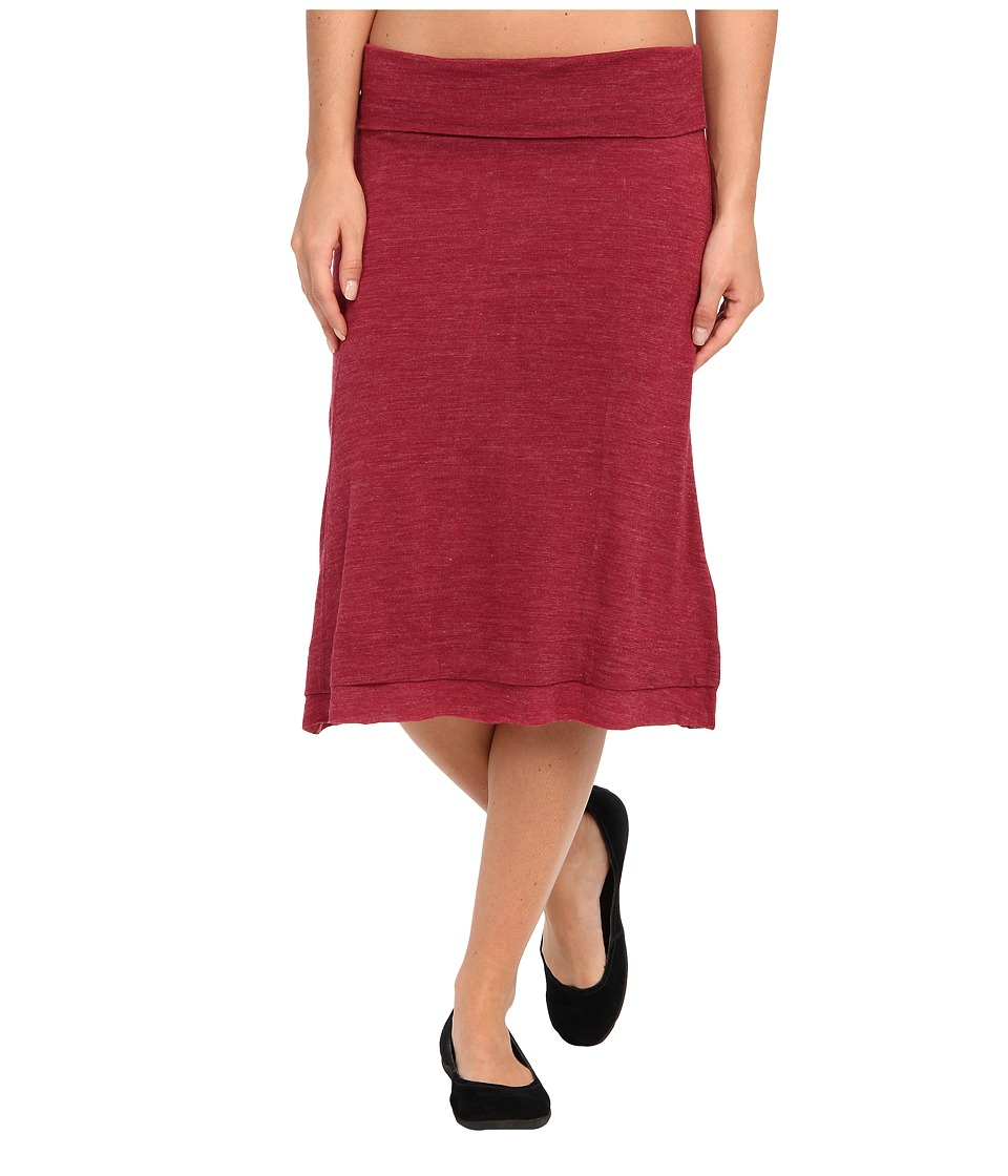 Prana - Daphne Skirt (Plum Red) Women's Skirt