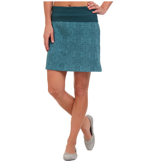 Prana - Roma Skirt (Deep Teal) Women's Skirt