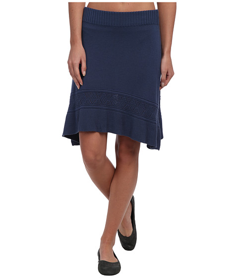Prana - Thea Sweater Skirt (Blue Ridge) Women's Skirt