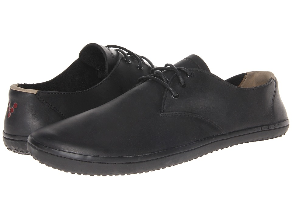 Vivobarefoot - Ra II (Black Leather) Men's Shoes