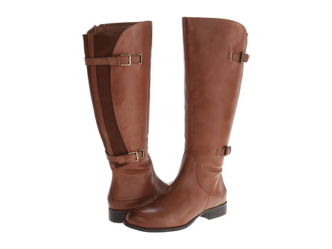 Naturalizer - Jamison Wide Shaft (Banana Bread Wide Shaft Leather) Women's Boots