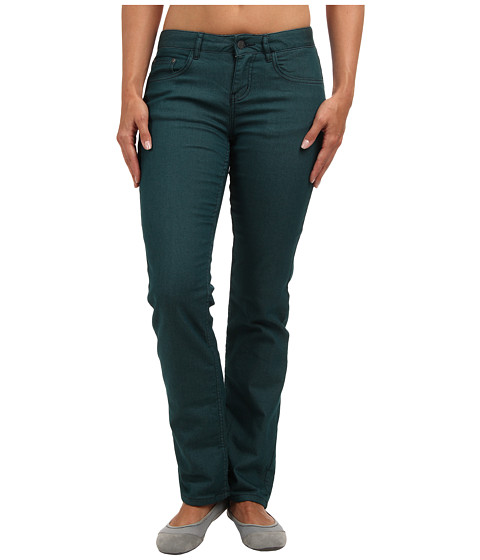 Prana - Lined Boyfriend Jean (Deep Teal) Women
