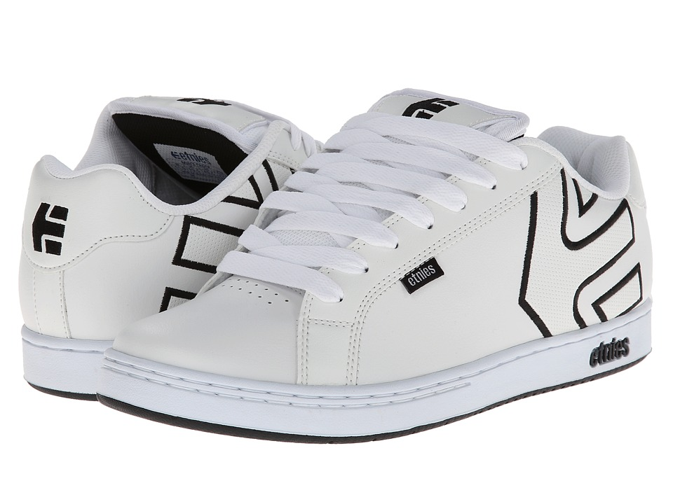 etnies - Fader (White/White/White) Men's Skate Shoes