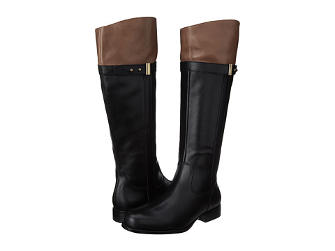 Naturalizer - Josette (Black/Banana Bread Leather) Women's Boots