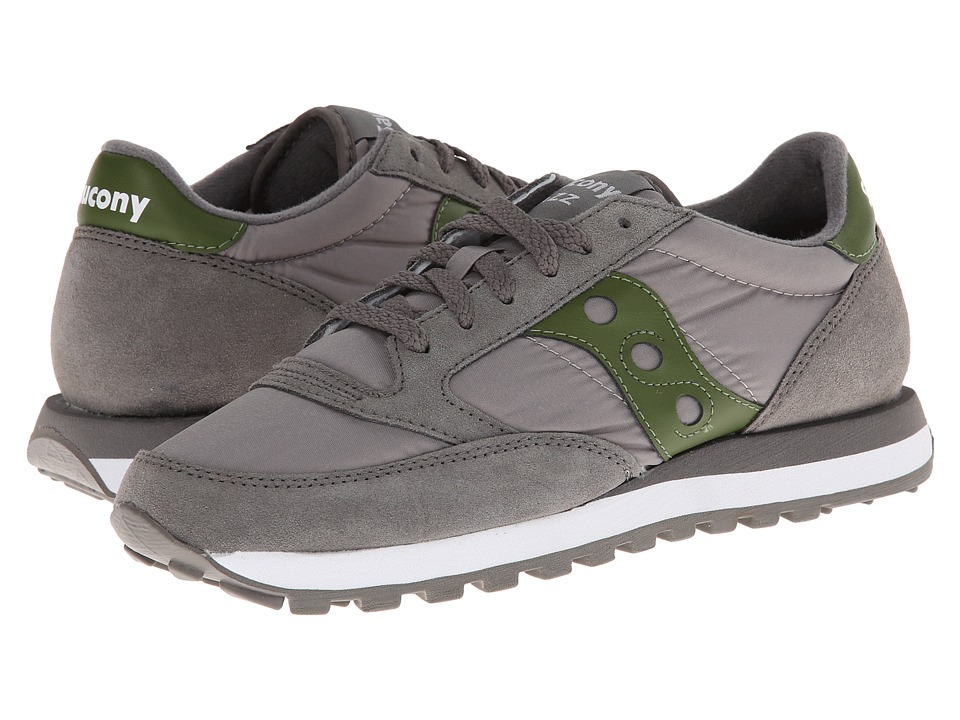 Saucony Originals - Jazz Original (Grey/Green) Men