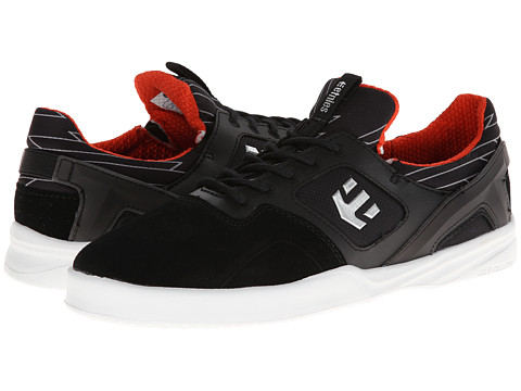 etnies - Highlight (Black/White/Orange) Men's Skate Shoes