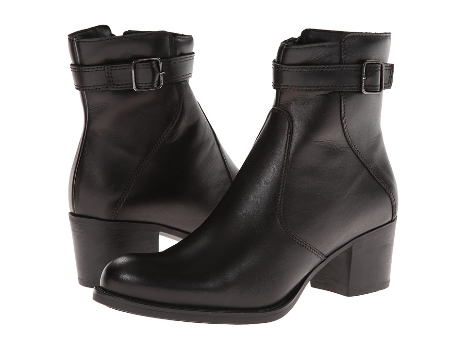 La Canadienne - Pheonix (Black/Leather) Women's Boots
