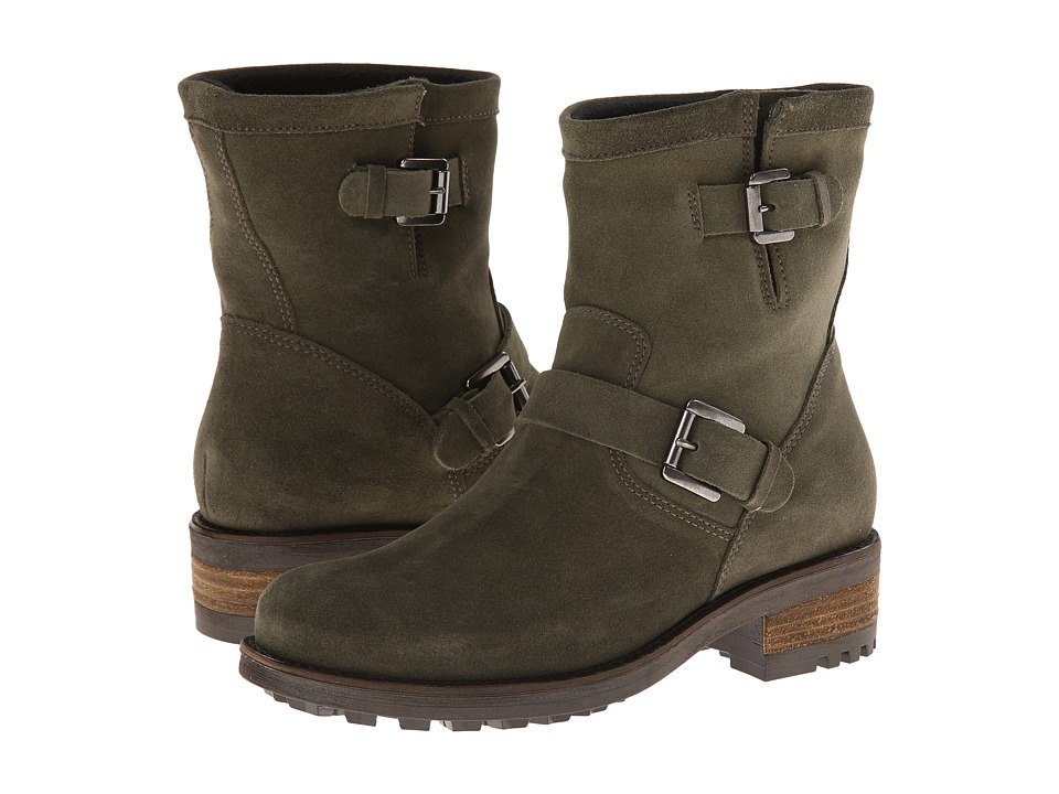 La Canadienne - Charlotte (Olive Oiled Suede) Women's Boots