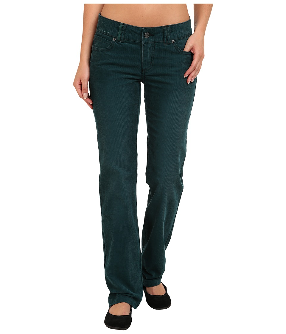 Prana - Canyon Cord Pant (Deep Teal) Women's Casual Pants
