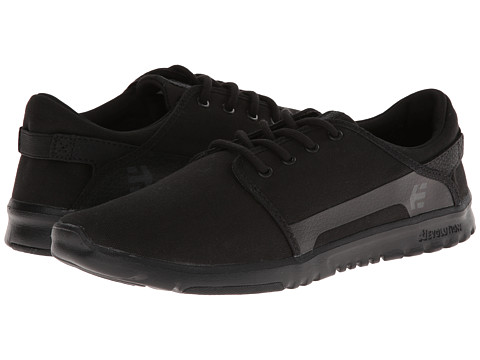 etnies - Scout (Black/Black) Men