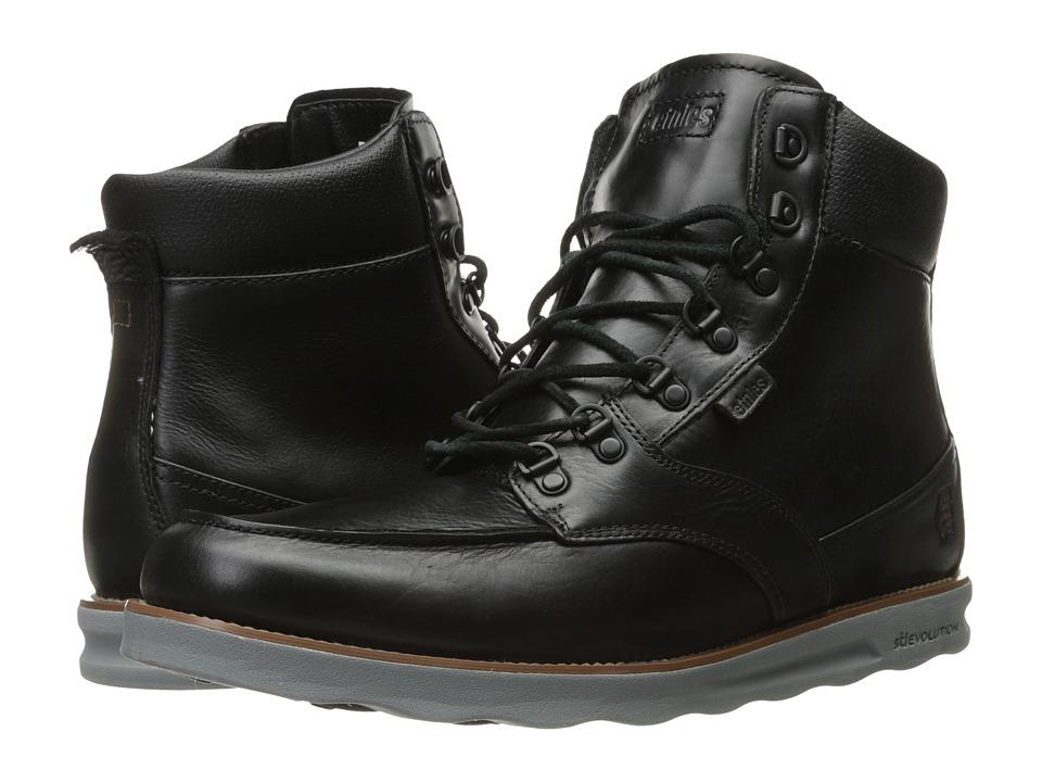 etnies - Militarise (Black) Men's Skate Shoes