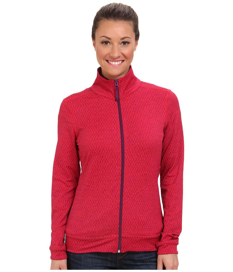 Prana - Randa Jacket (Pinkberry Diamond) Women's Jacket