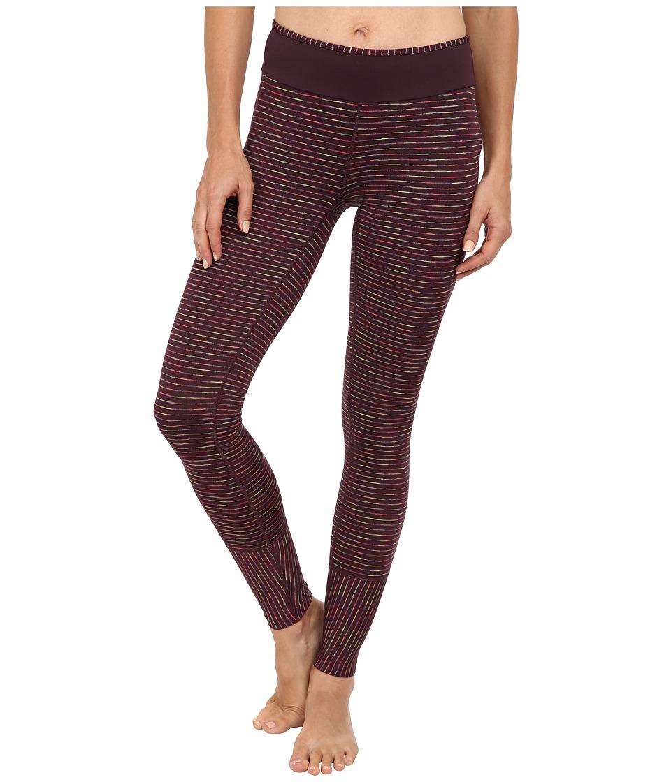 Prana - Sapphire Legging (Dark Plum) Women