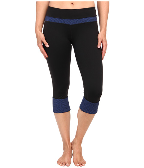 Prana - Clover Capri (Black Diamond) Women's Capri