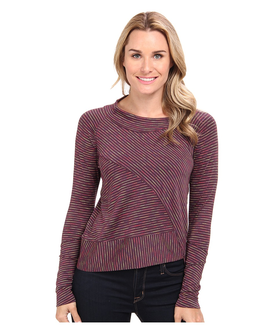 Prana - Alicia Pullover Top (Dark Plum) Women