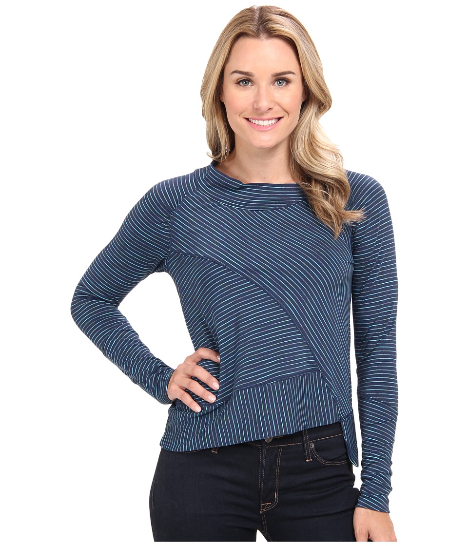 Prana - Alicia Pullover Top (Dress Blue) Women's T Shirt