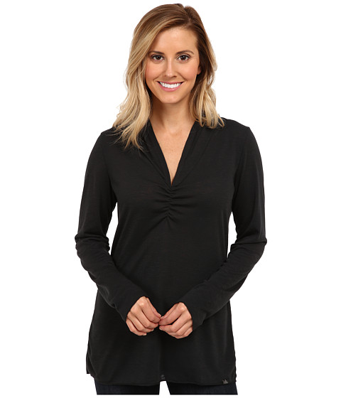 Prana - Perry Pullover Top (Black) Women's Long Sleeve Pullover