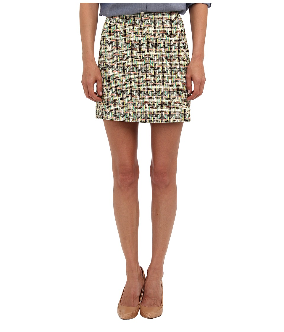 Kate Spade New York - Summer Tweed Harper Skirt (Multi Cuban Tweed) Women