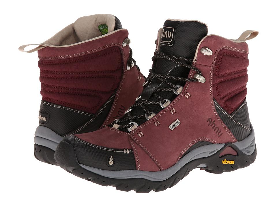 Ahnu - Montara Boot (Red Mahogany) Women's Hiking Boots