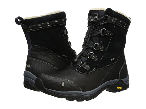 Ahnu - Twain Harte (Black) Women's Cold Weather Boots
