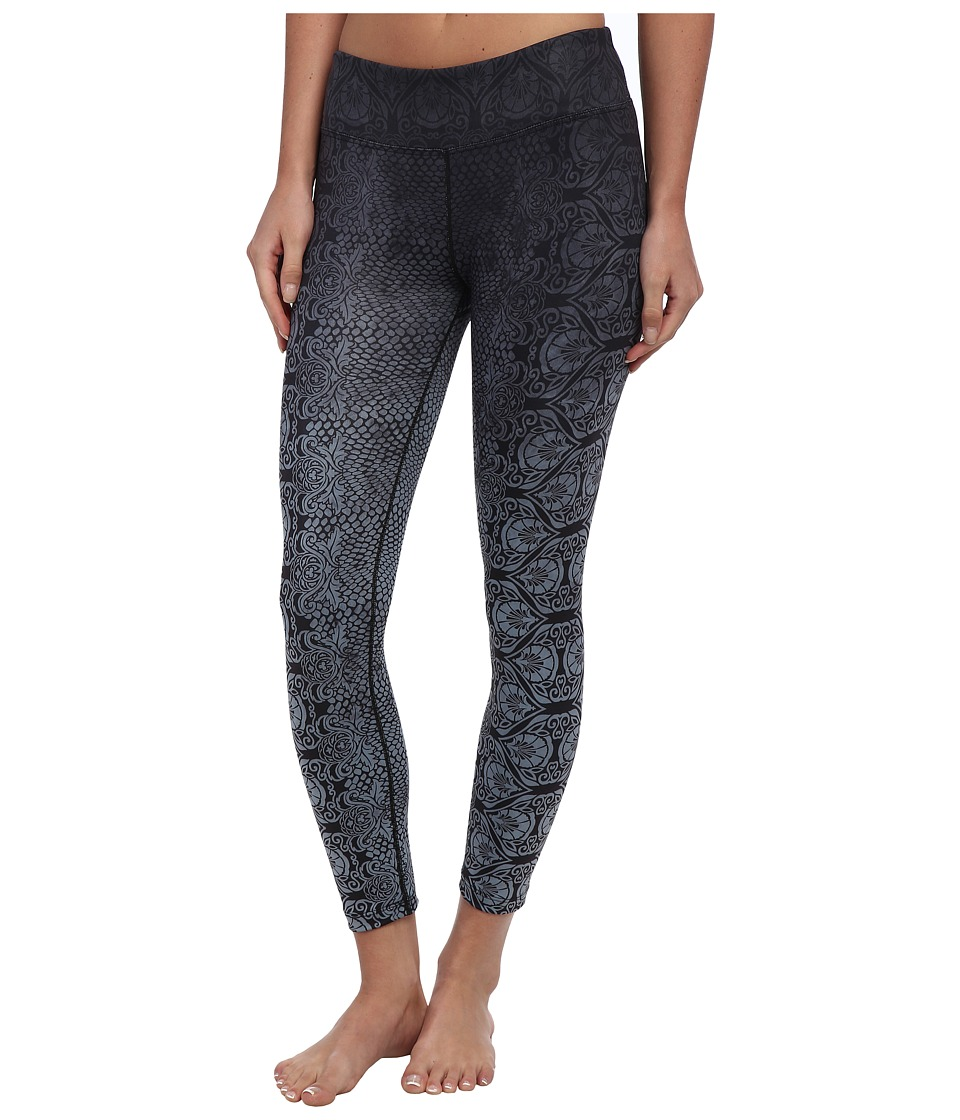 Prana - Roxanne Printed Legging (Black Nouveau) Women's Casual Pants