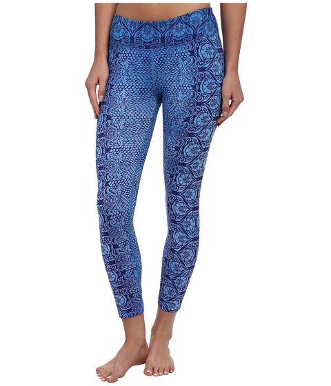 Prana - Roxanne Printed Legging (Blue Twilight Nouveau) Women's Casual Pants