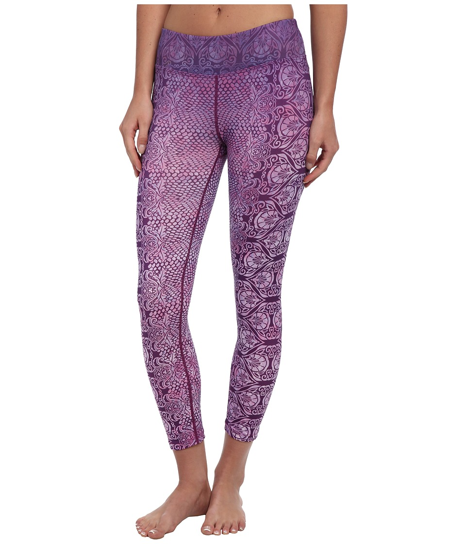Prana - Roxanne Printed Legging (Red Violet Nouveau) Women's Casual Pants