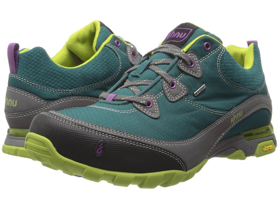 Ahnu Women S Sugarpine Wp Hiking Shoe Black Aubergine