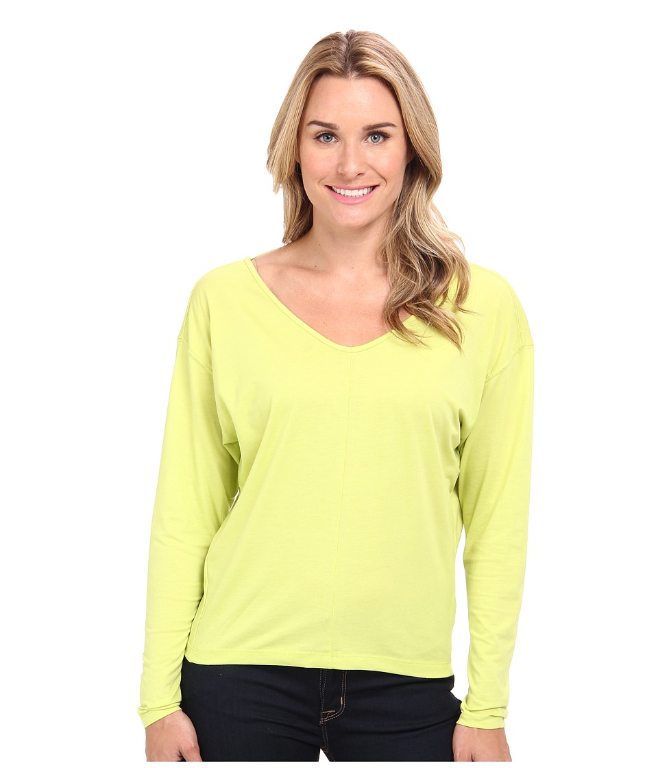 Prana - Bianca Top (Wild Lime) Women's Long Sleeve Pullover