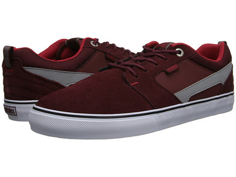 etnies - Rap CT (Maroon) Men's Skate Shoes