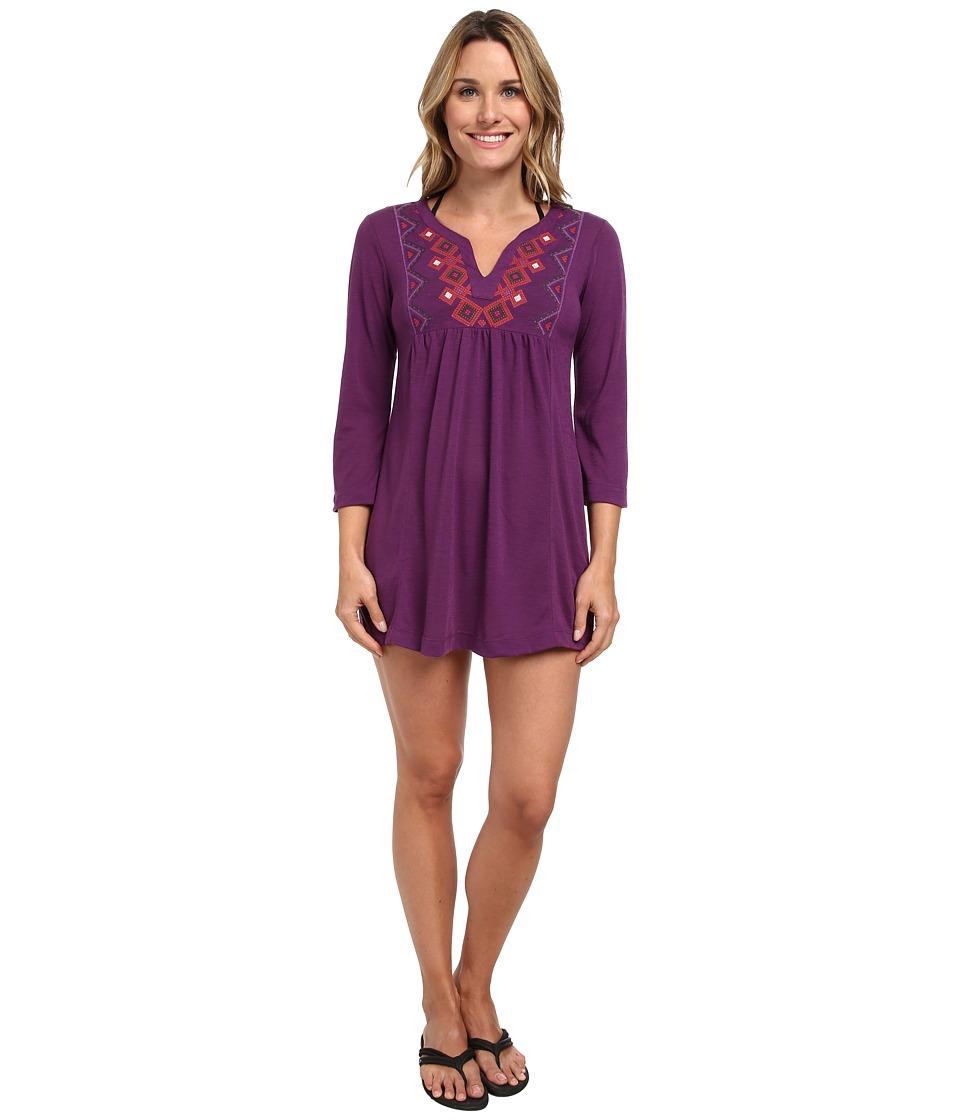Prana - Mira Cover Up (Red Violet) Women's Swimwear