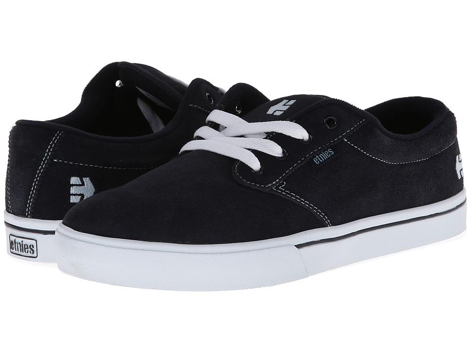 etnies - Jameson 2 (Navy/White) Men's Skate Shoes