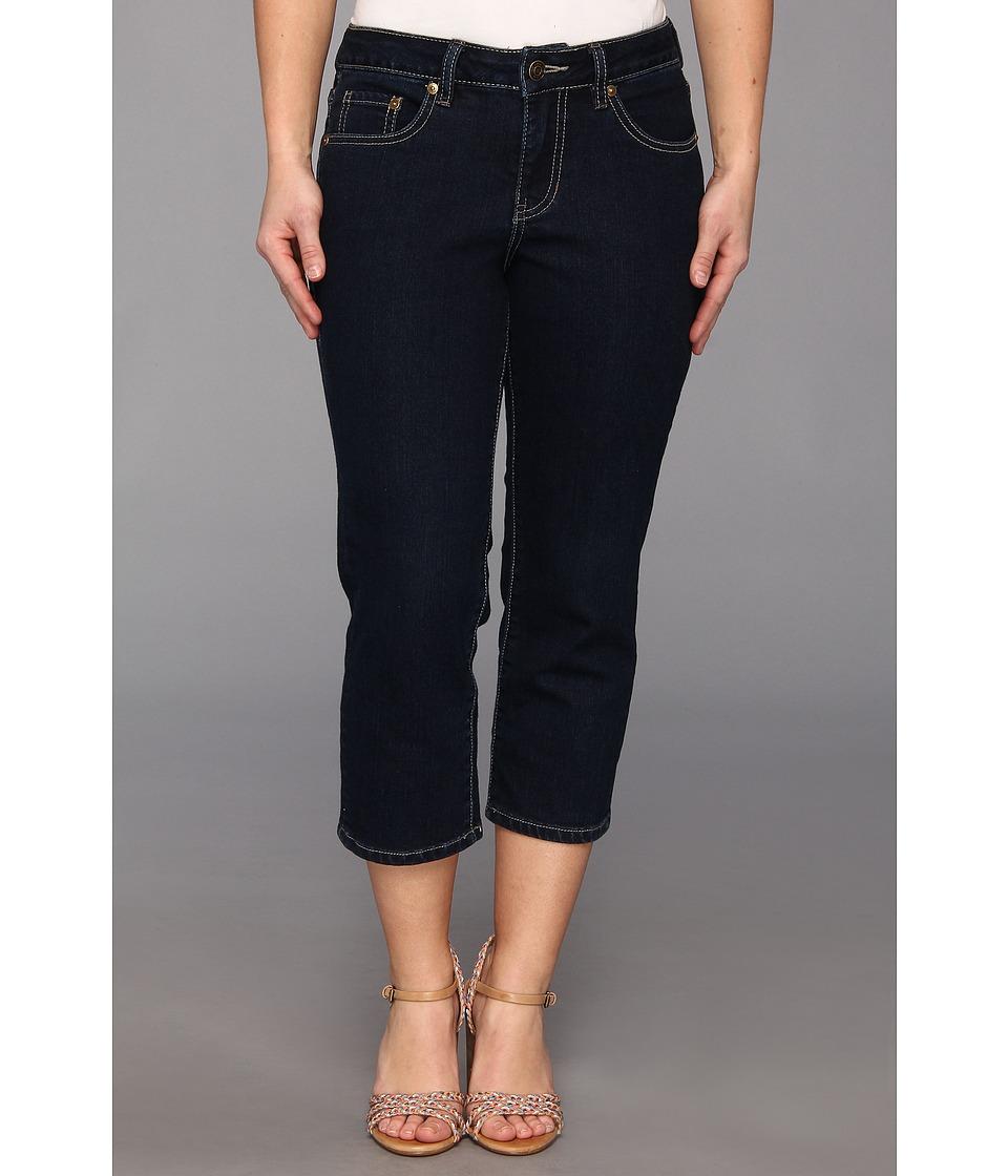Jag Jeans Petite - Petite Alta Crop in Indigo (Indigo) Women's Jeans