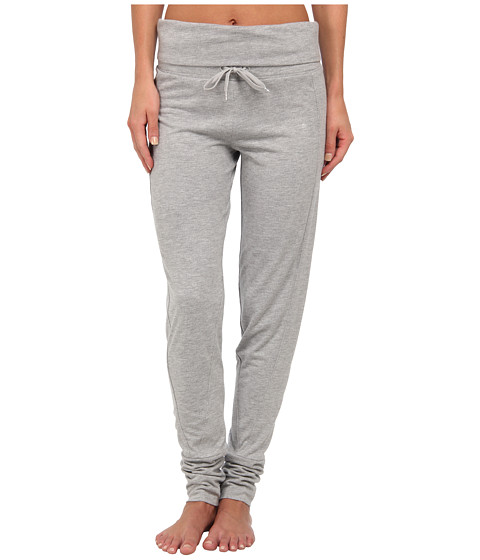 PUMA - Studio Yogini Trend Pants (Athletic Gray Heather) Women