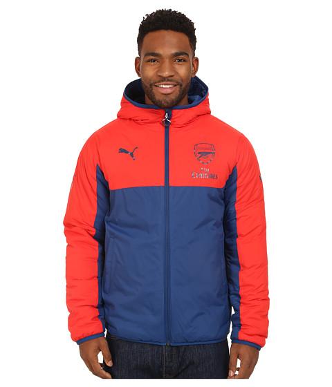 PUMA - AFC Reversible Jacket with Sponsor (High Risk Red/Estate Blue) Men