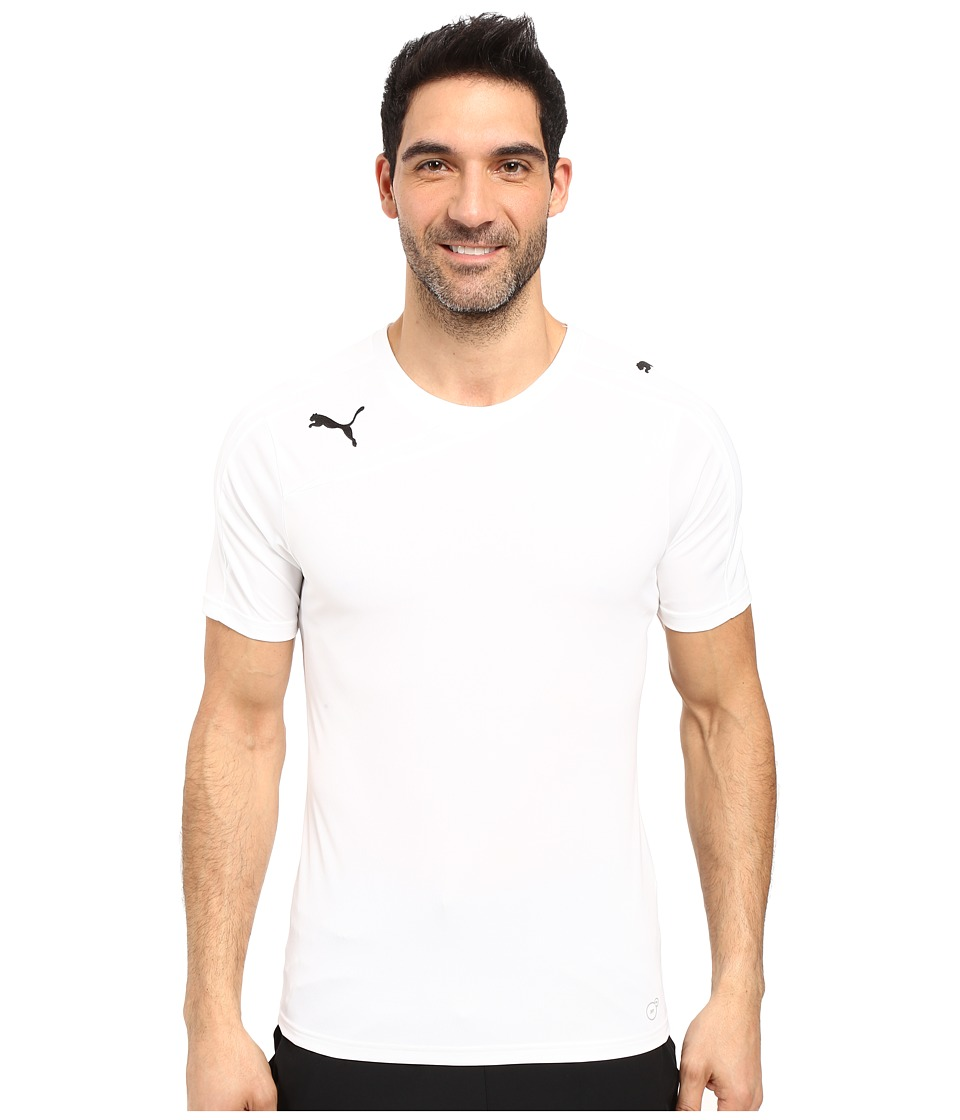 PUMA - Spirit Shirt (White/White) Men's Clothing